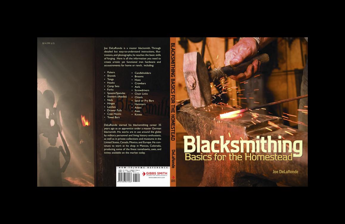Blacksmithing, Basics for the Homestead, Front/Back