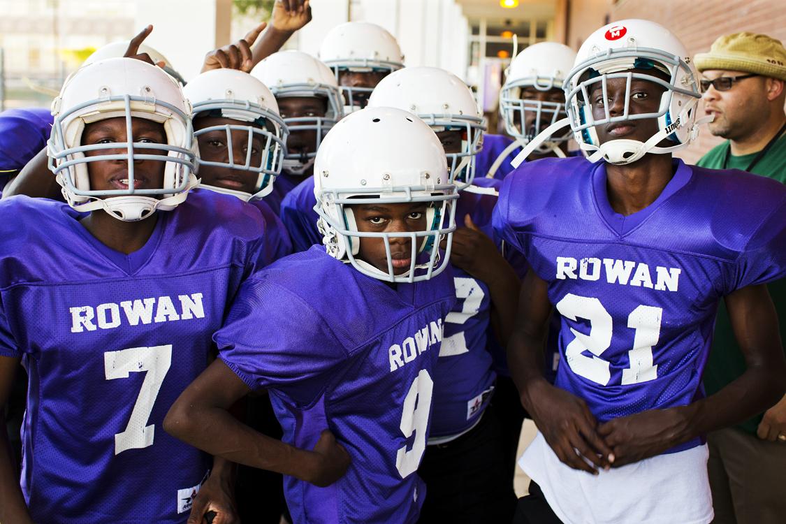 Football Team Hallway